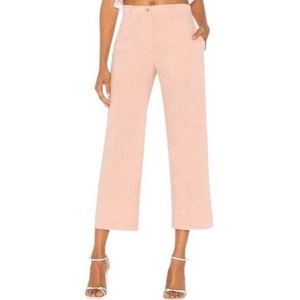 Theory Organic Crunch Linen Fluid Pant Size 6 NWT